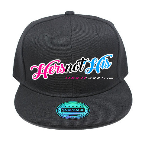 Tuned. Snapback - Hers Not His (Pink)