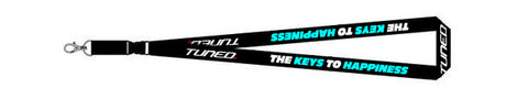 Tuned. 'Keys To Happiness' Lanyard