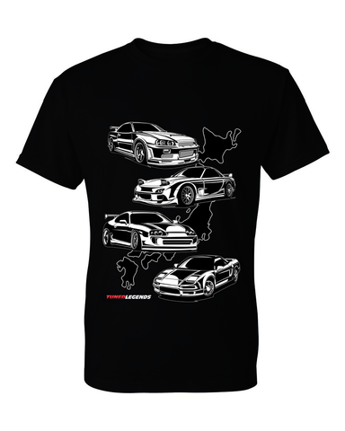 Tuned. Legends 'JDM Legends' T-Shirt