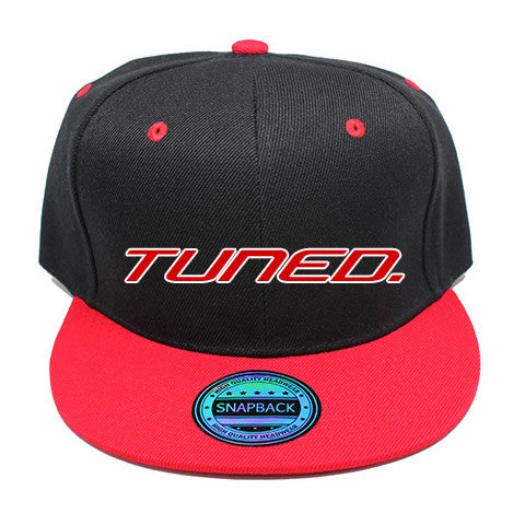 Tuned. Snapback - Black & Red