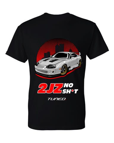 Tuned. 'Supra: 2JZ NO SH*T' T-Shirt