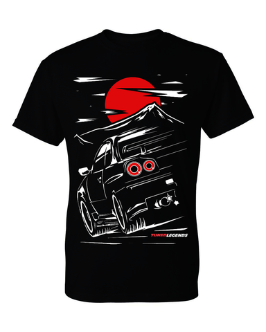 Tuned. Legends 'Mountain Run' T-Shirt