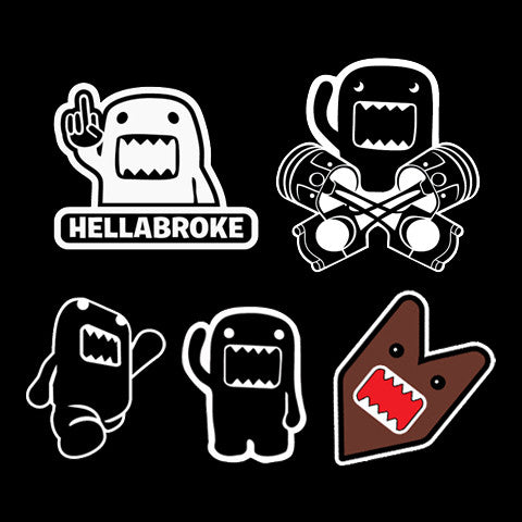 Domo Sticker Pack