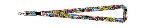 Tuned. 'Stickerbomb' Lanyard