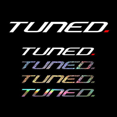 Tuned. Sticker Pack