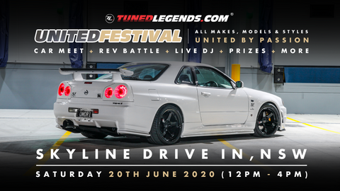 Tuned. UNITED Festival (NSW) - Trader Fee
