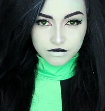 Kim Possible Live-Action | Kim and Shego Makeup Tutorial by Jbunzie