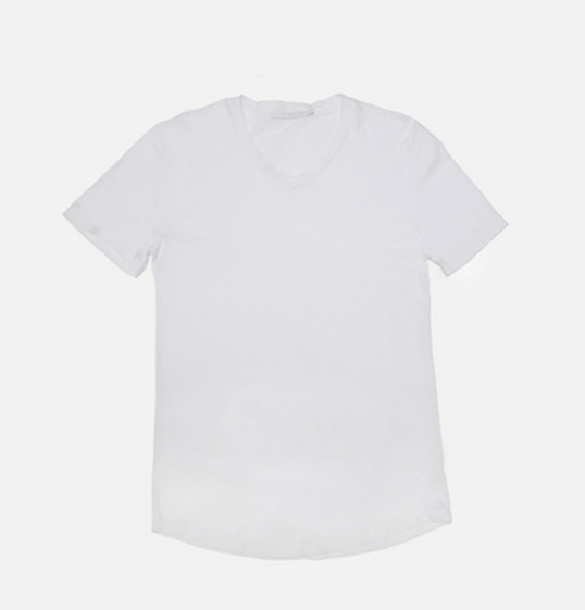 Franklin - V-Neck Tee (White)