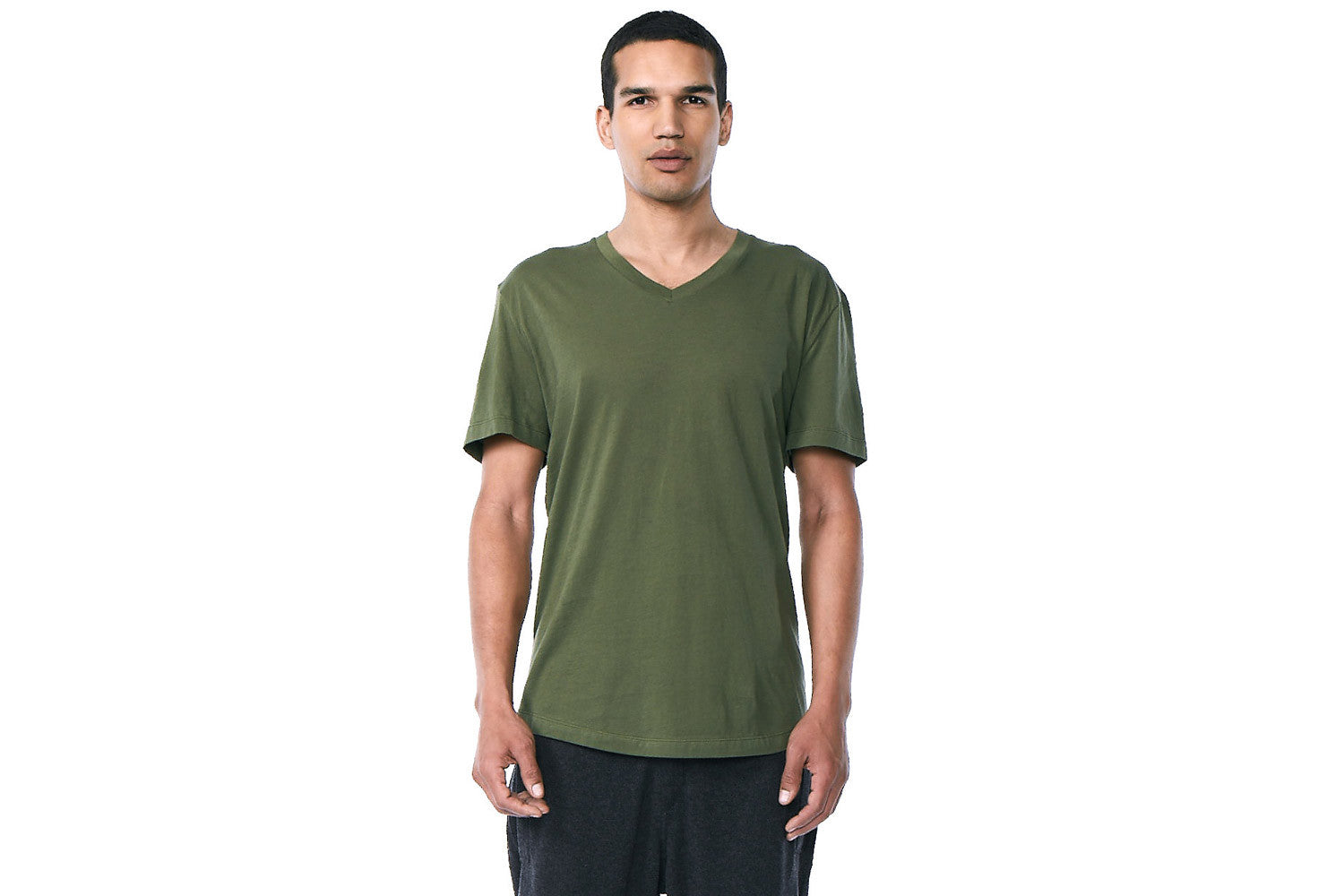 Franklin - V-Neck Tee (Military)