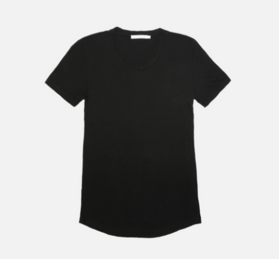 Franklin - V-Neck Tee (Black)