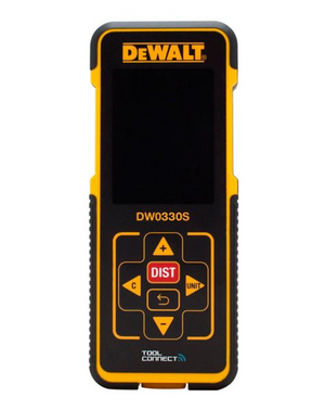 DEWALT Bluetooth Laser Distance Measurer, 330-ft (DW0330S) - WiseTech Inc