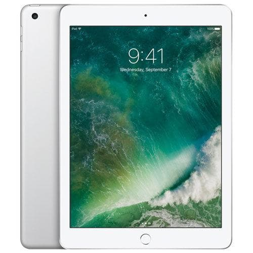 "Apple iPad 9.7"" 128GB with Wi-Fi + Cellular - Silver (MLQ42CL/A)"
