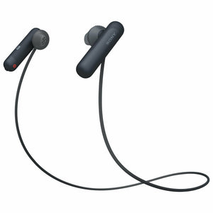 Sony In-Ear Bluetooth Headphones with Mic - Black (WI-SP500) - WiseTech Inc
