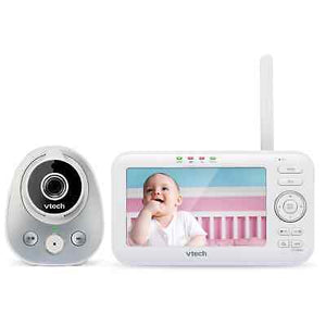 "VTech 5"" Video Baby Monitor with Wide Angle Lens (VM352) - WiseTech Inc"