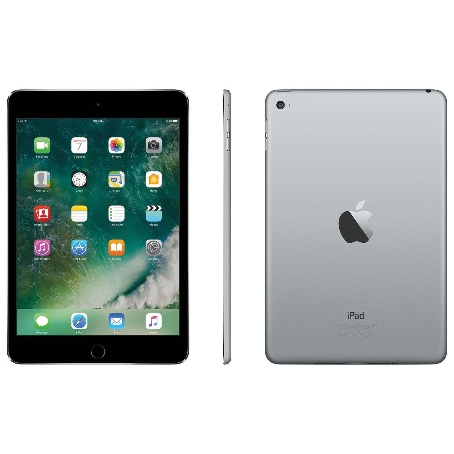 Apple iPad mini 4 WiFi 128GB  - Space Grey (MK9N2CL/A)