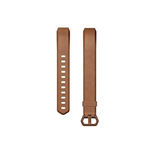Fitbit HR and Alta Leather Accessory Band - Brown (Large) - WiseTech Inc