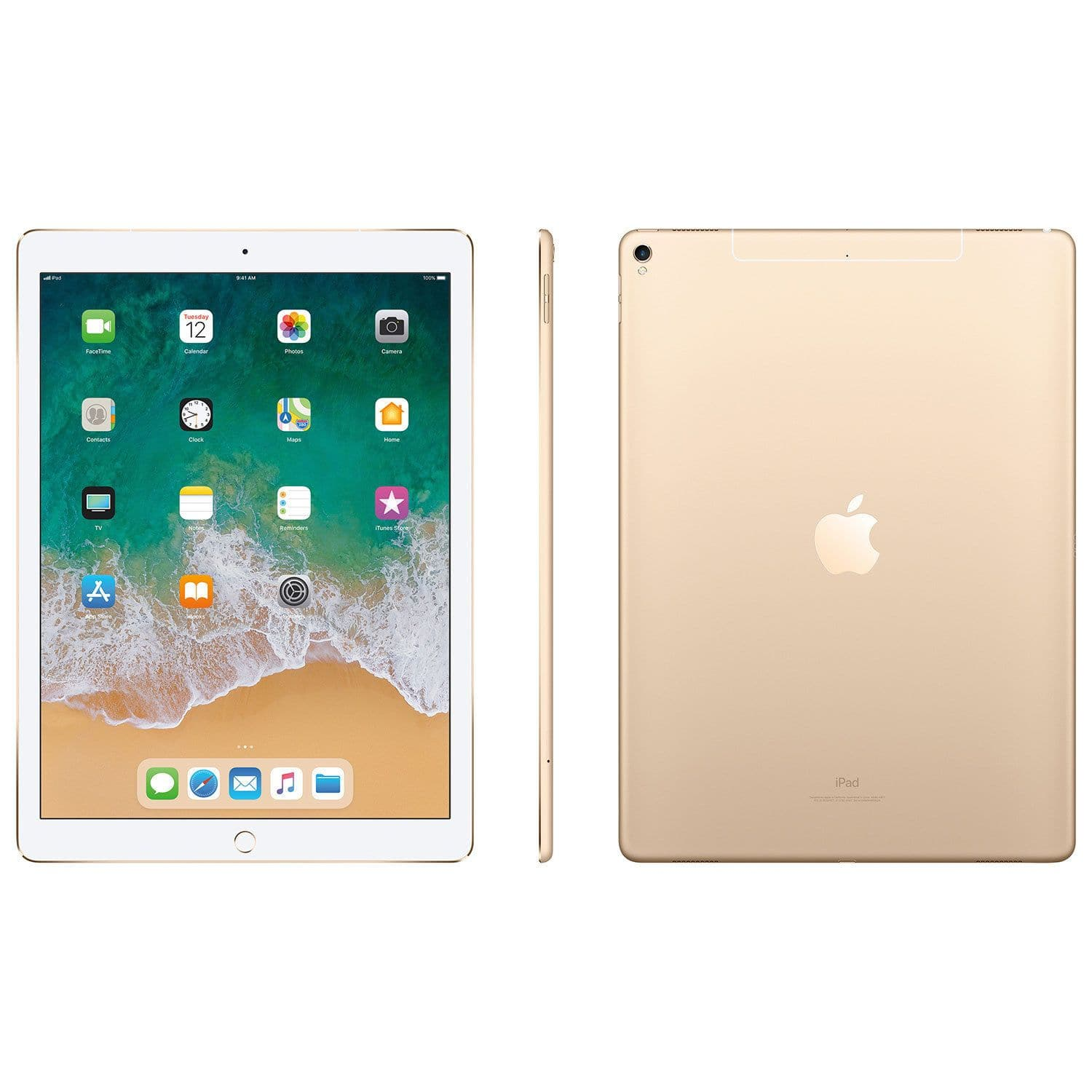 "Apple iPad Pro 12.9"" 512GB with Wi-Fi - Gold (MPL12CL/A)"