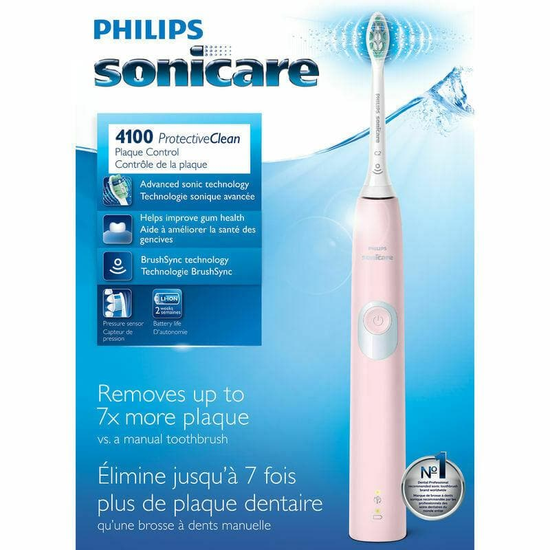 Philips Sonicare ProtectiveClean 4100 - Pink - WiseTech Inc