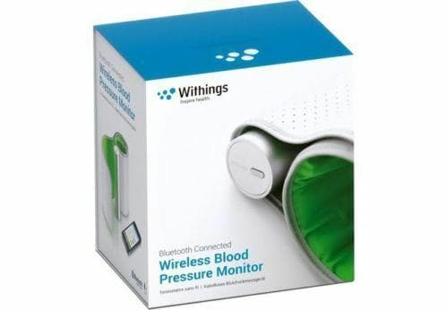 Withings Wireless Blood Pressure Monitor (BP801) - WiseTech Inc