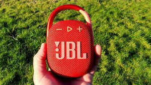 JBL Clip 4 Waterproof Bluetooth Wireless Speaker - Red (JBLCLIP4REDAM) - WiseTech Inc