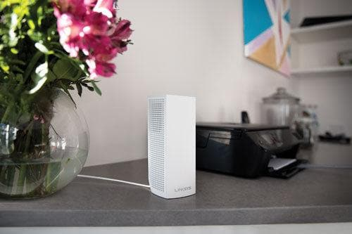 Linksys Velop Wireless AC6600 MU-MIMO Mesh Whole Home Wi-Fi System (WHW0303-CA)