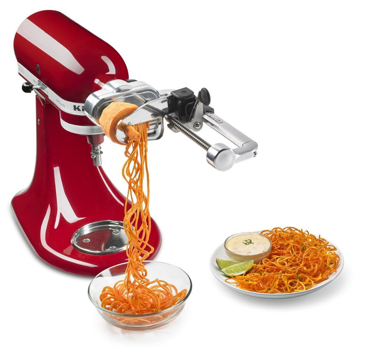 44.KitchenAid Spiralizer Stand Mixer Attachment