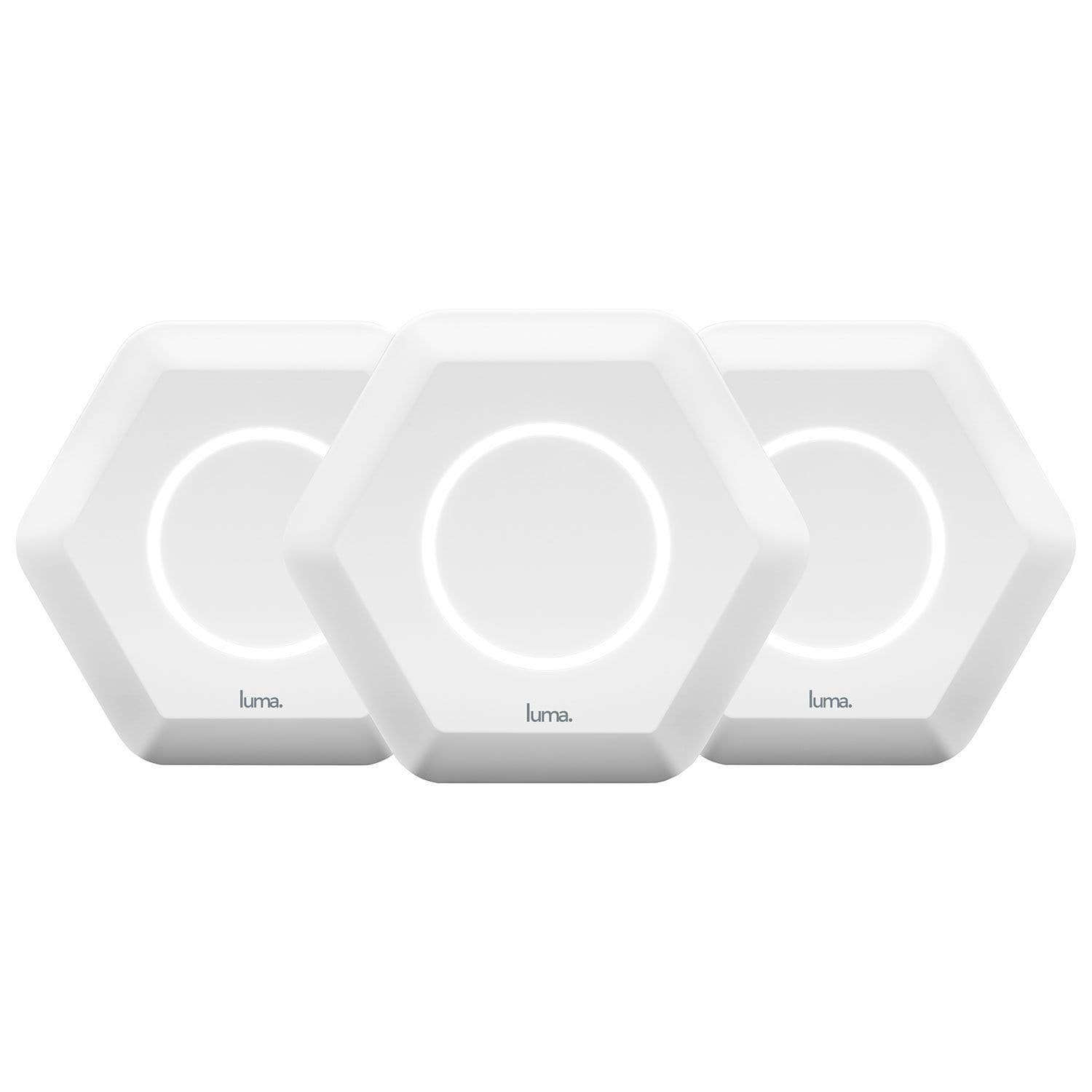 Luma AC1200 Whole-Home Mesh Wifi System - 3-Pack