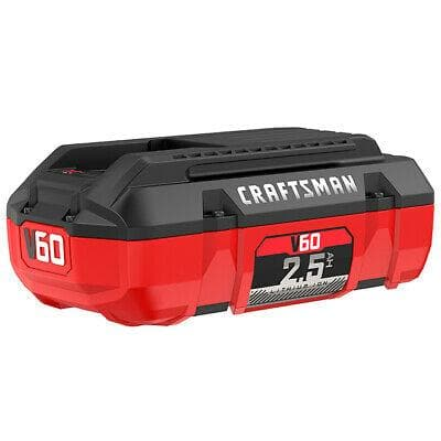 Craftsman V60 Battery - Lithium Ion - 60 V - 2.5 Ah (CMCB6025) - WiseTech Inc