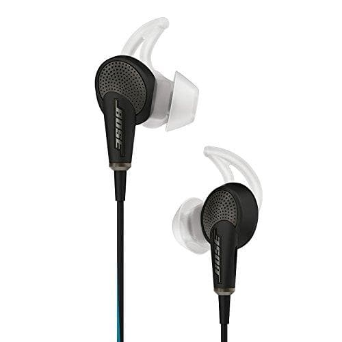 Bose QuietComfort 20 In-Ear Noise Cancelling Headphones with Mic (Apple) - Black - WiseTech Inc