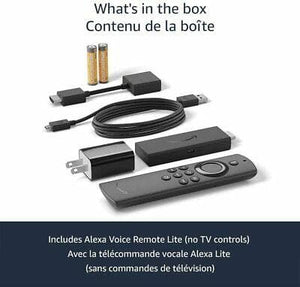 Amazon Fire TV Stick Lite Media Streamer with Alexa Voice Remote Lite