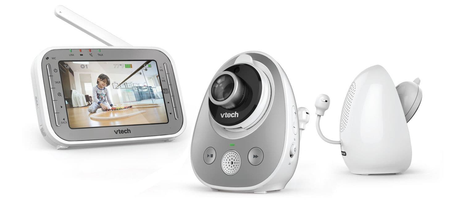 Vtech Wide Angle And Standard Lens Camera Video Monitor