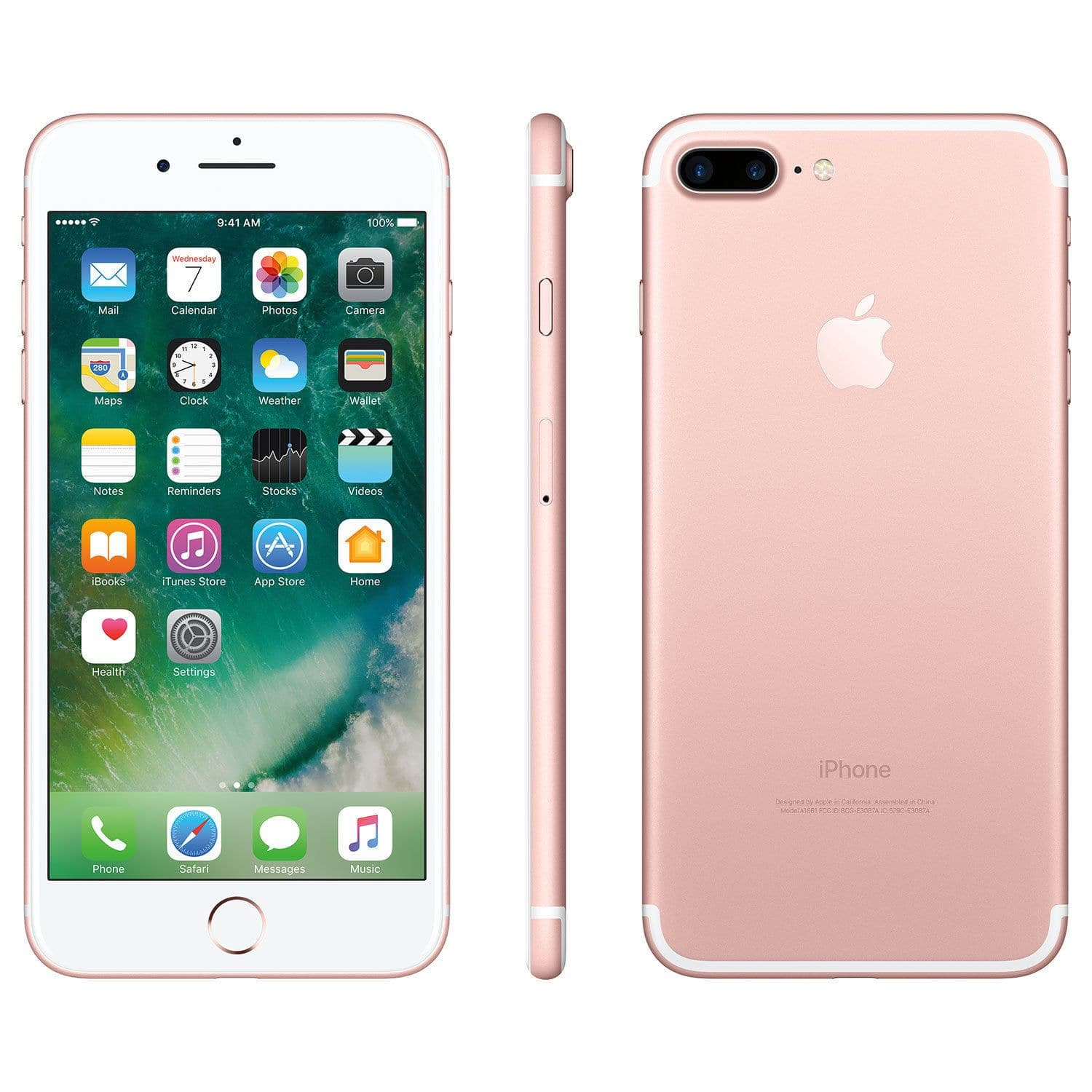 Apple iPhone 7 Plus 256GB Smartphone - Rose Gold