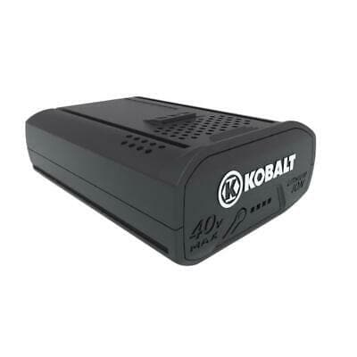 Kobalt 40-Volt 2.5AH Amp Hours Rechargeable Lithium Ion (Li-ion) Cordless Power Equipment Battery - WiseTech Inc