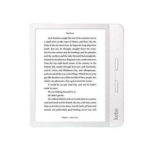 "Kobo Libra H2O 7"" Digital eReader with Touchscreen - White (N873-KU-WH-K-EP)"