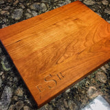 Eco Friendly Custom Custom Personalized Monogram Cutting board - The Carpenter's Shop