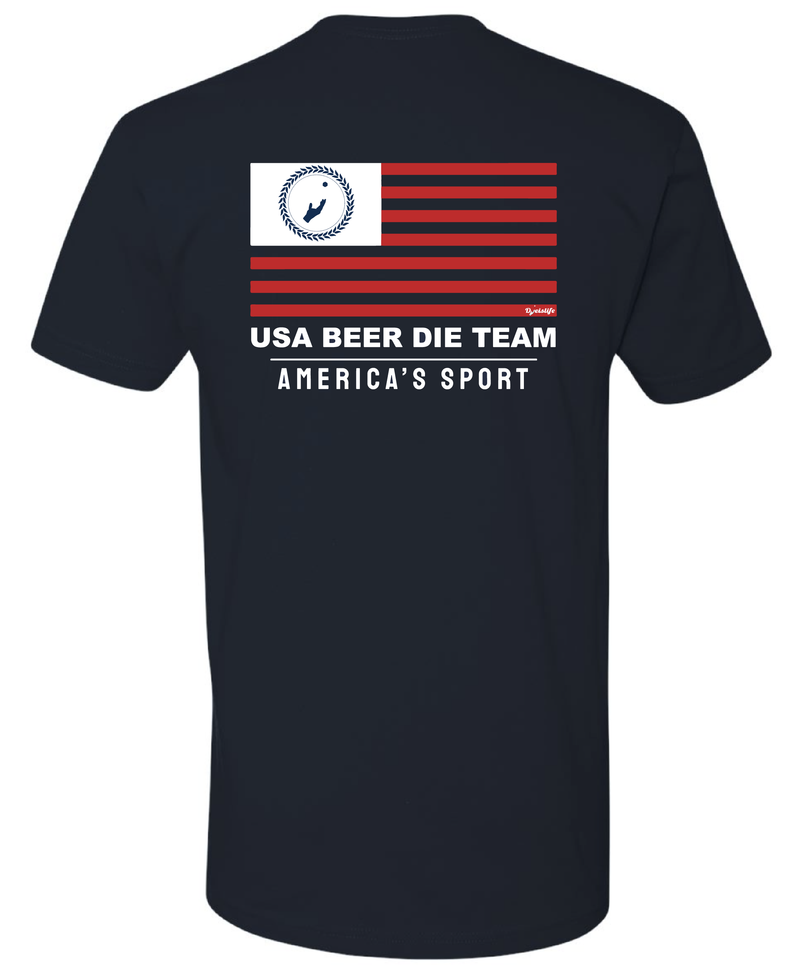 USA Beer Die T