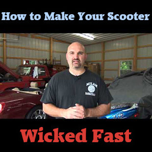 How To Make Your 49/50cc Scooter Faster In Under 15 Minutes