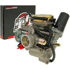 J&J Super Flow Carburetor, High Performance Scooter Carburetor