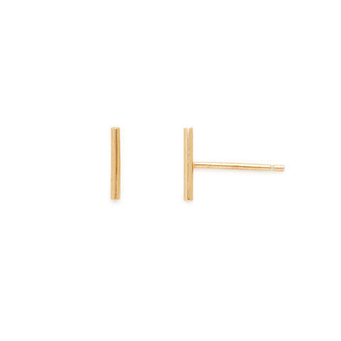 Ashley studs (14k yellow or white gold)