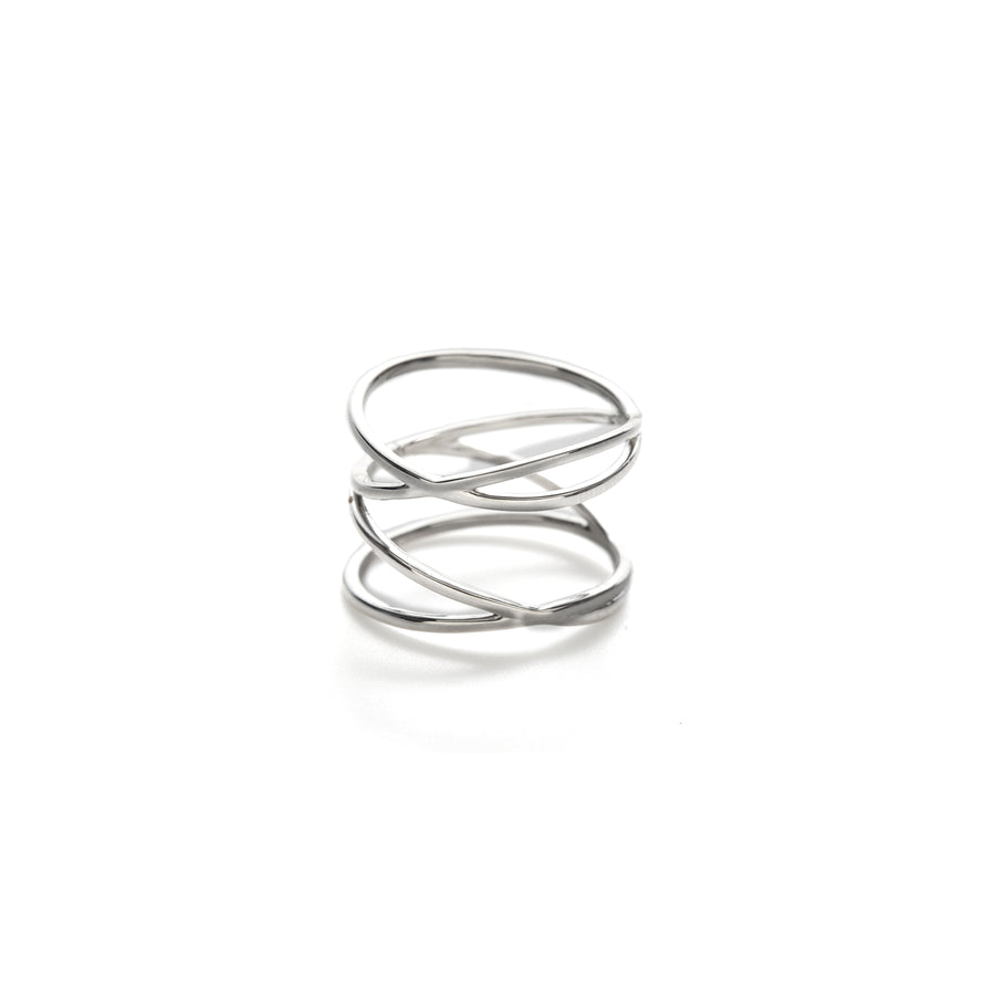 Gehry ring (gold or silver)