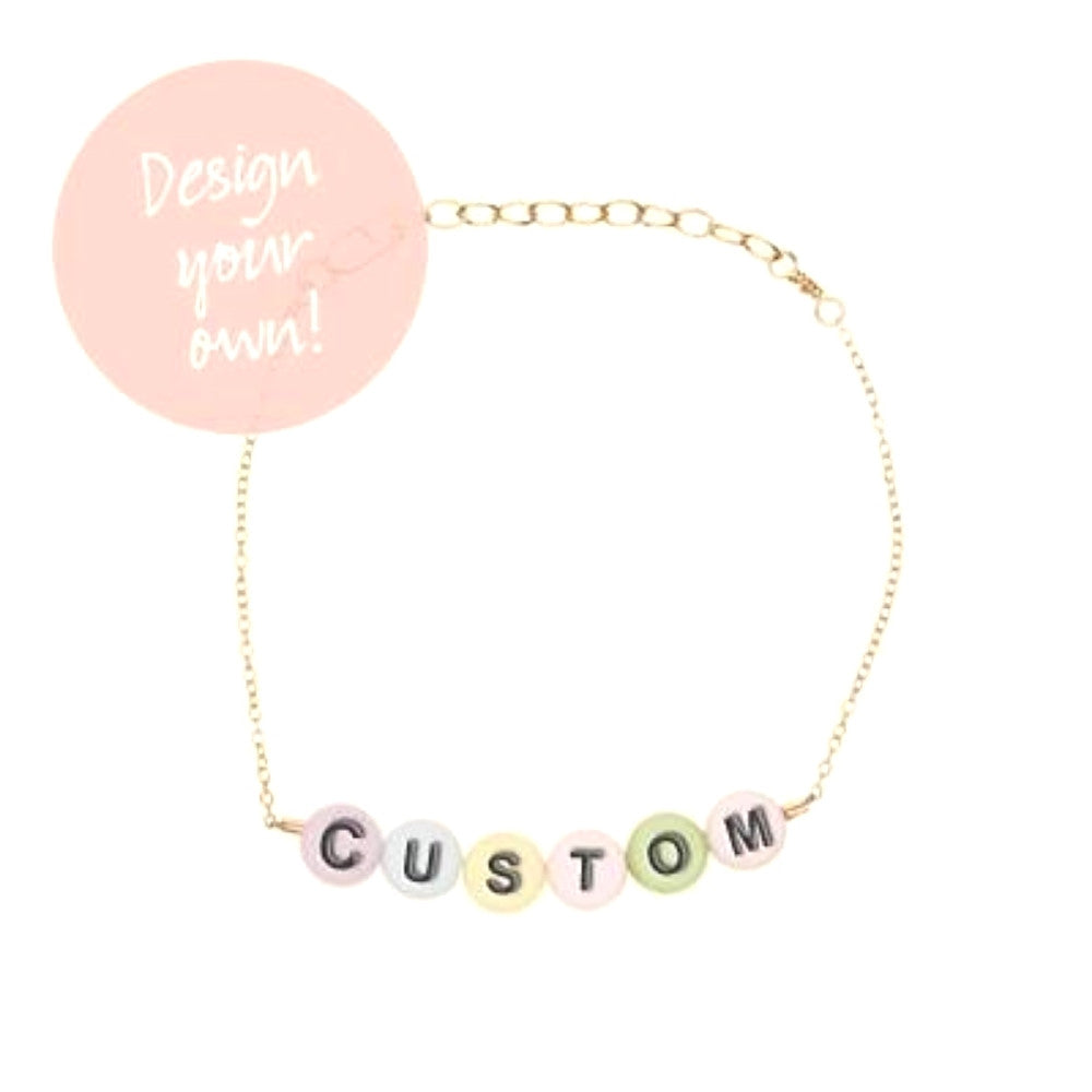her bracelet for initial olizz personalized jewelry