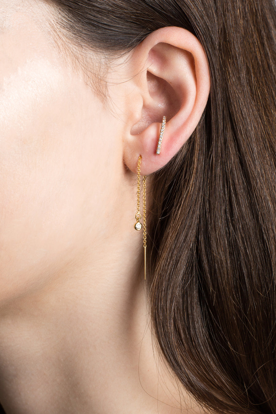 Europa earring threaders (Color options)