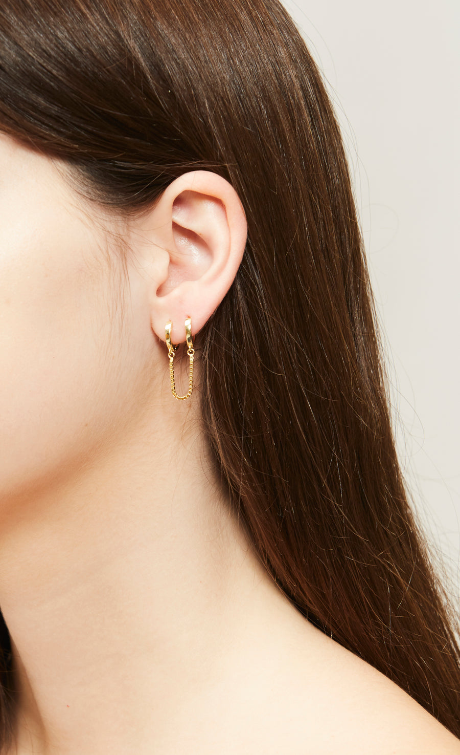Bardi cuff earrings (gold or silver)