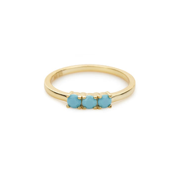 * Final Sale * Calle Marlin ring (turquoise)