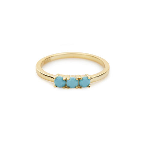 Calle Marlin ring (turquoise)