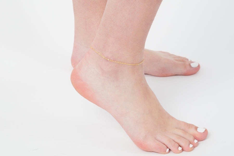 Daria anklet (gold or silver)