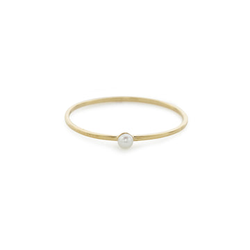 Drew ring (fresh water pearl)