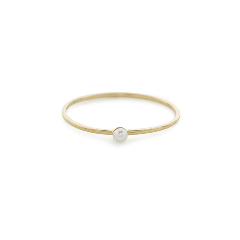 Drew fresh water pearl ring