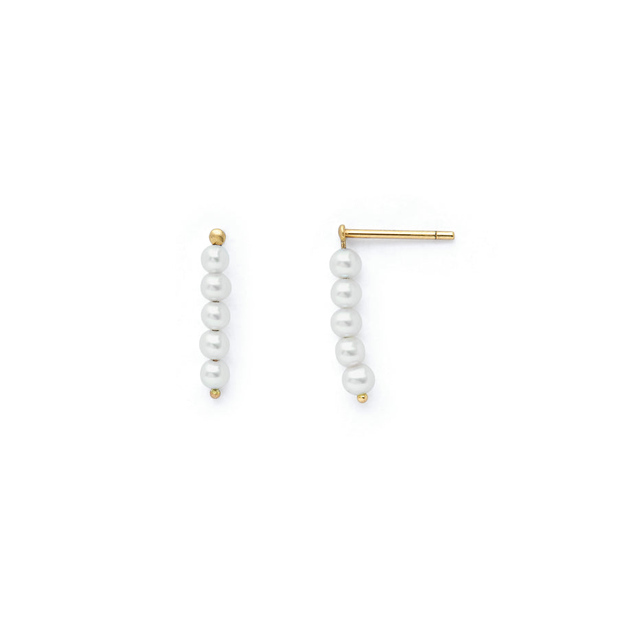 Elle freshwater pearl earrings
