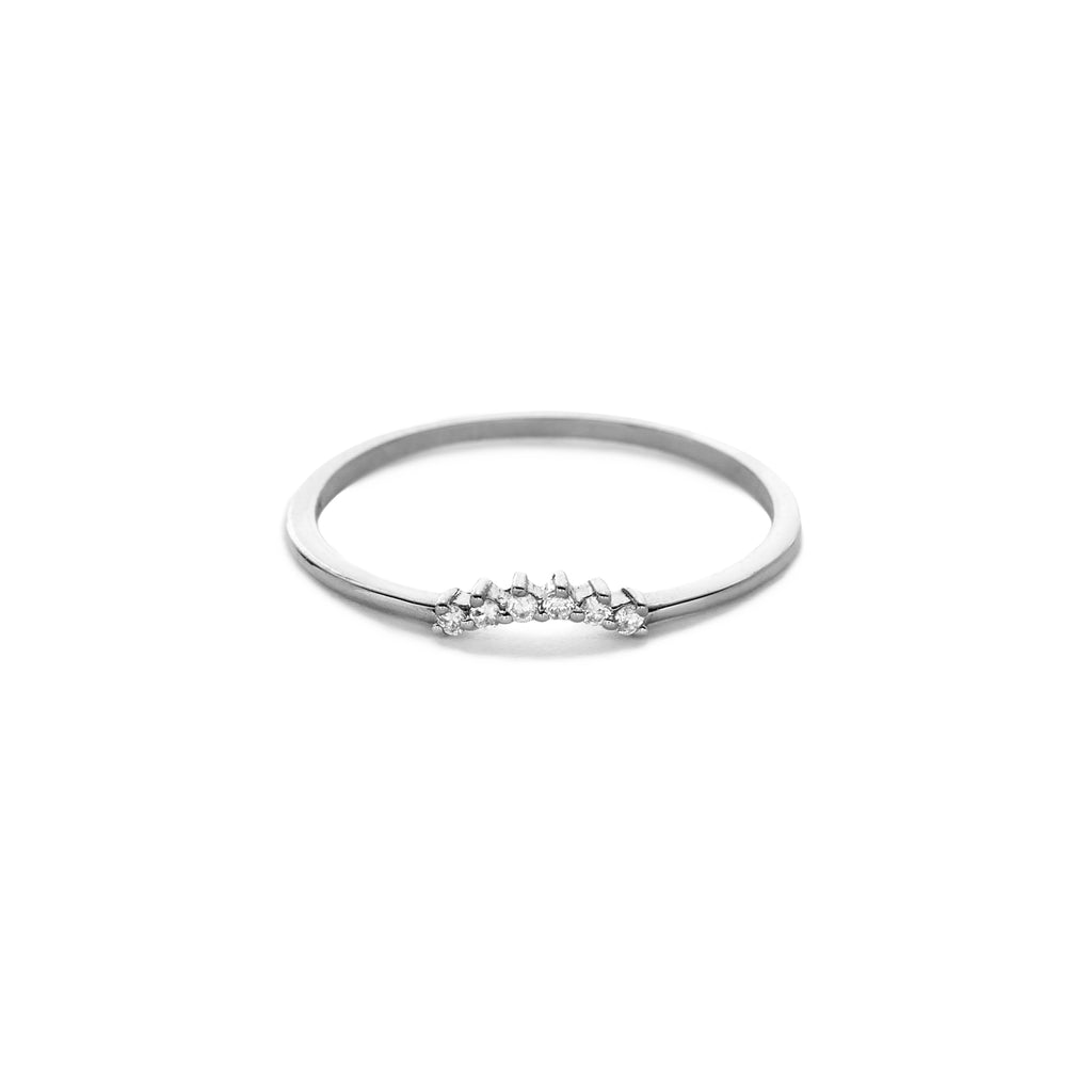 Elsa crown ring (color options)